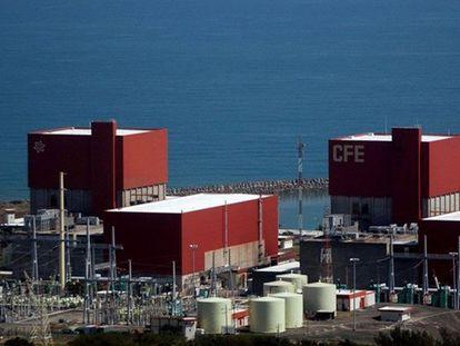 Vista general de la central nucleoeléctrica del Estado mexicano de Veracruz.