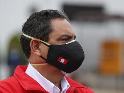 El exministro del Interior de Perú Jorge Montoya, en una imagen de archivo.