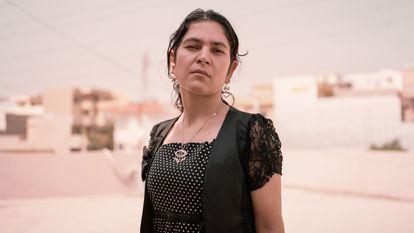 """A Bawan (nombre ficticio) se le ha permitido regresar a casa después de un divorcio exitoso. Ella es un ejemplo de éxito dentro de las disputas relacionadas con el honor, que muchas veces acaban con el asesinato de la mujer por """"mancillar"""" la reputación familiar. Soleimania, Irak."""