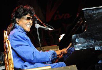 Little Richard al piano durante una actuación en Casino The Orleans de Las Vegas, en marzo de 2013.