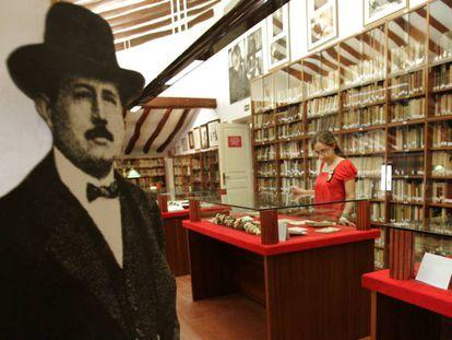 Biblioteca de la Casa Museo Azorín de Monòver.
