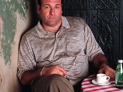 James Gandolfini, en el papel de Tony Soprano