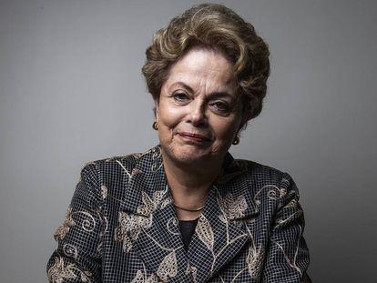 Dilma Rousseff, en la entrevista.
