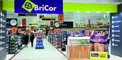 Tienda de Bricor, la marca de El Corte Inglés.