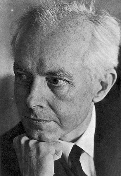 El compositor Bela Bartók.