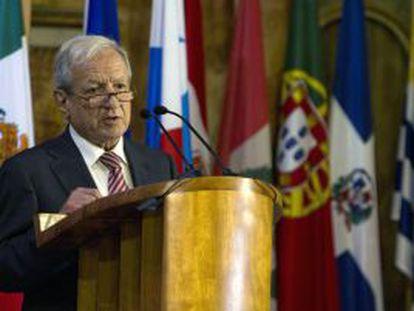 El presidente del Constitucional, Pascual Sala.