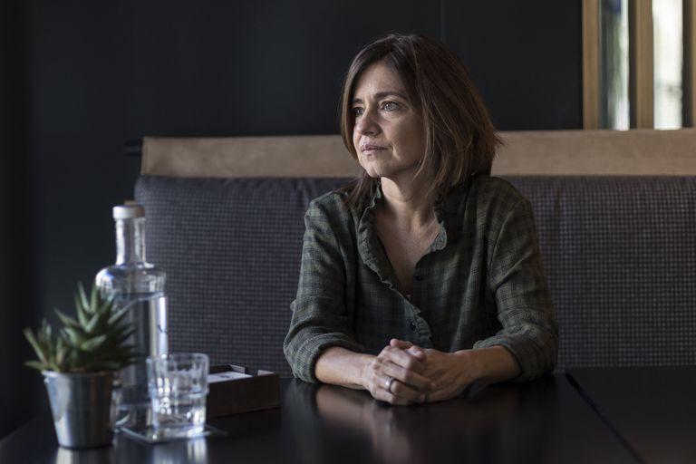 La escritora Marta Orriols, la semana pasada en Barcelona.