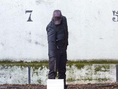 Una imagen del proyecto 'Fuera de acto', de Javier Núñez, para el Espai d'Art Contemporàni de Castelló.