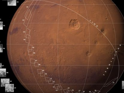En 1965, la sonda de la NASA 'Mariner 4' fue la primera en conseguir sobrevolar otro planeta del Sistema Solar. Tomó las primeras fotografías de Marte de la historia desde el espacio y las envió a la Tierra. Su misión empezó en 1964 y terminó en 1967, cuandó se perdió la señal.