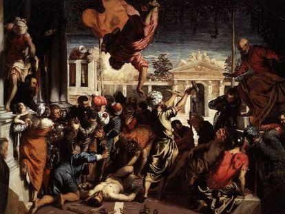 'El milagro del esclavo' (1548), de Tintoretto.