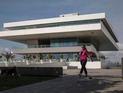 El edificio Veles e Vents que será una de las sedes de València Capital Mundial del Diseño 2022 y donde este miércoles se han presentado las líneas maestras de su programación.