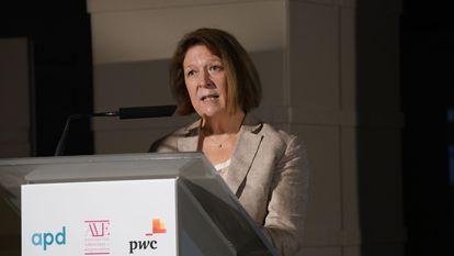 Agnès Noguera, vicepresidenta de AVE.