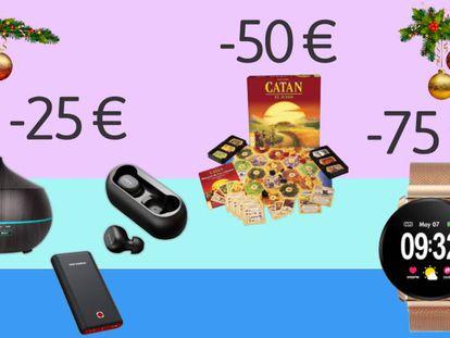 Una selección de artículos de menos de 25, 50, 75 y 100 euros a elegir para el día de Reyes.
