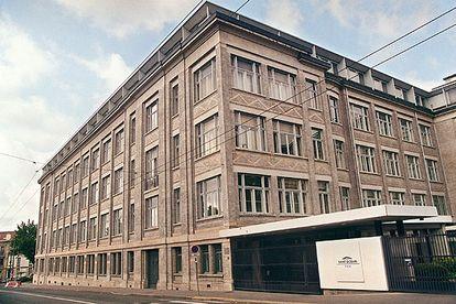 Sede de la empresa Saint Gobain, fundadora de Duralex y su propietaria hasta 1997.
