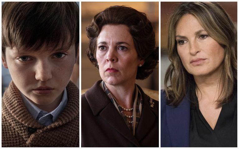 'La maldición de Bly Manor', 'The Crown' y 'Ley y orden: UVE'.