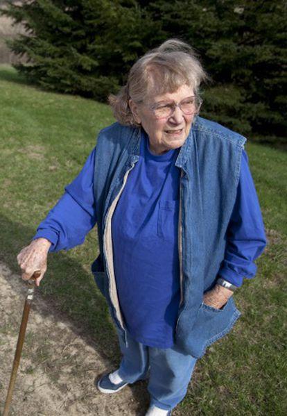 La hija de Stalin, Lana Peters, en una imagen de abril de 2010.
