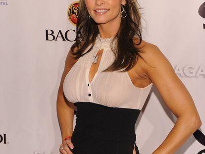 Karen McDougal, en un evento de 2010