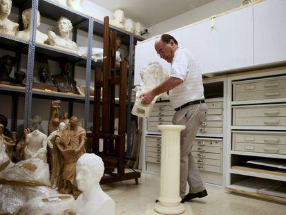 José María Luzón, director del Museo de la Real Academia de San Fernando.