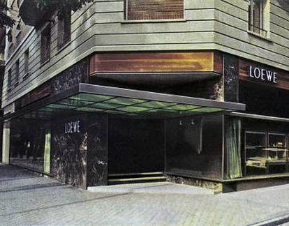 En los años sesenta, el arquitecto barcelonés Javier Carvajal diseñó la tienda de Loewe de la madrileña calle Serrano: un oasis de vanguardia en el centro de la Capital.