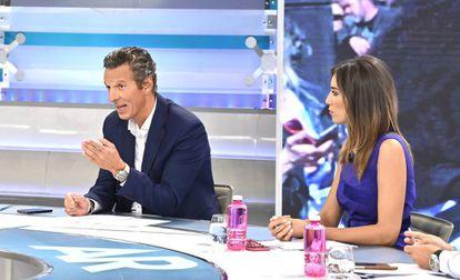 El presentador Joaquín Prat ha sido usado como reclamo de una estafa financiera.