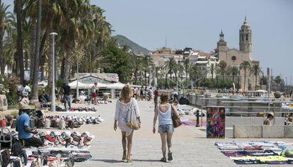 Sitges es uno de los municipios medianos con mayor desigualdad salarial.