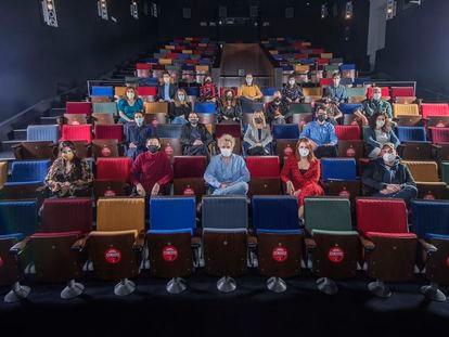 Residentes de la academia del cine.
