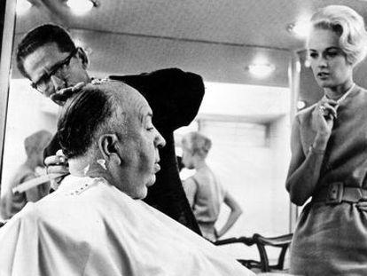 Hitchcock, con Tippi Hedren