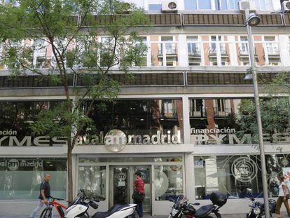 La sede de Avalmadrid.