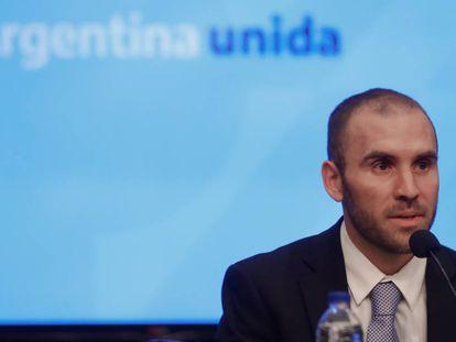 El ministro argentino de Hacienda, Martín Guzmán.