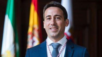 Óscar Liria, vicepresidente de la diputación de Almería.