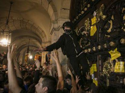 No ha habido detenidos por el intento de asalto de la cámara catalana