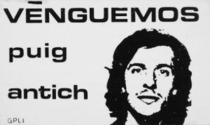 Poster per Salvador Puig Antich