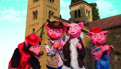 La compañía Titelles Vergés estrenará 'El viatge dels tres porquets'