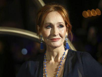 La escritora J.K. Rowling  en un estreno en Londres en noviembre de 2018.