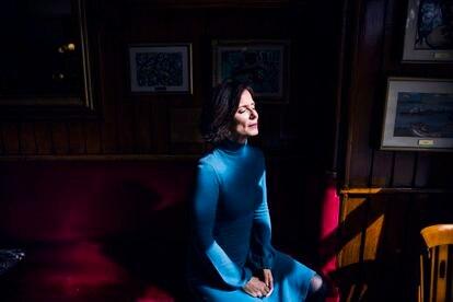 Aitana Sánchez-Gijón se suma mañana martes al rodaje de 'Madres paralelas', de Pedro Almodóvar.