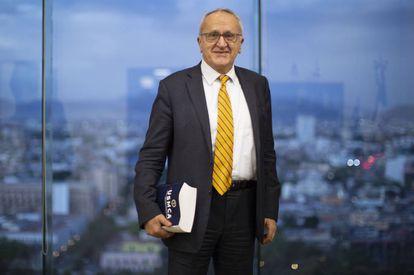 El negociador Jesús Seade, el viernes, en su despacho en Ciudad México.