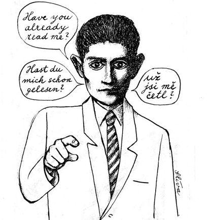 Por cortesía de Jirí Slíva y de la Sociedad Kafka.
