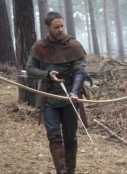 Russell Crowe, en Robin Hood.