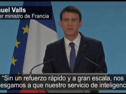 Francia contratará a 2.680 personas para luchar contra el terrorismo