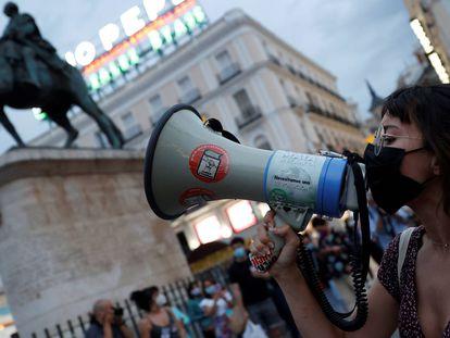 Las manifestaciones en contra de la violencia de género, en imágenes