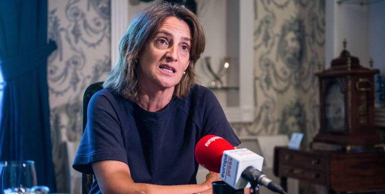 La vicepresidenta cuarta del Gobierno y ministra para la Transición Ecológica, Teresa Ribera