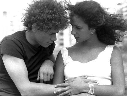 José Luis Manzano y Rosario Flores en 'Colegas' (Eloy de la Iglesia, 1982), máximo exponente del llamado cine quinqui.