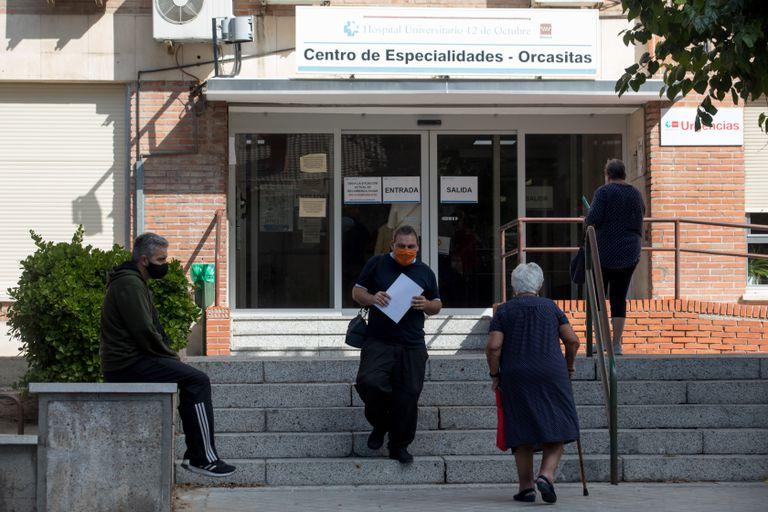 El centro de especialidades de Orcasitas, este miércoles.