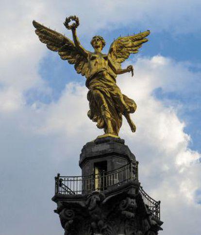 Angel de la Independencia, en México DF.