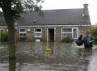 Inundaciones en Gran Bretaña, en junio de este año.
