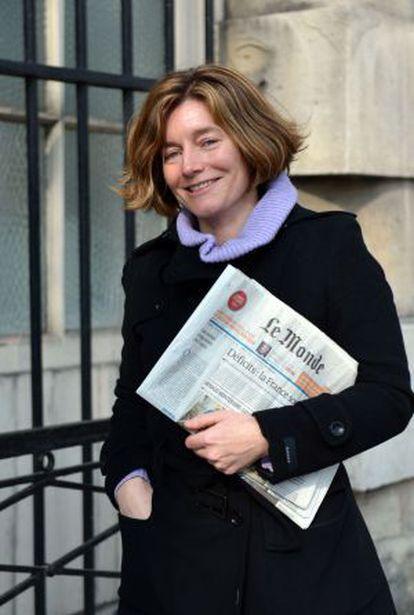 La periodista Natalie Nougayrède.