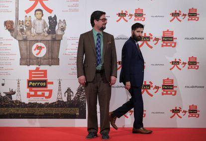 Roman Coppola y Jason Schwartzman.
