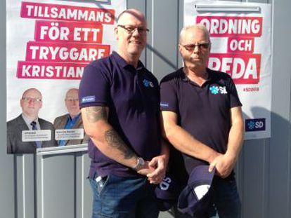 Los ultras cautivan a los votantes de Kristianstad, donde sus rivales políticos calculan que los Demócratas Suecos obtendrán un 25% del apoyo el próximo domingo