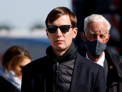 El empresario y exasesor de Donald Trump, Jared Kushner en Fayetteville, Carolina del Norte.
