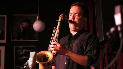 El saxofonista Bill McHenry